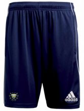 Woodvale Cricket Club Adidas Core 18 Training Shorts Dark Blue/White Adults 2020